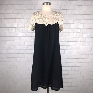 French Connection Lace Babydoll Dress